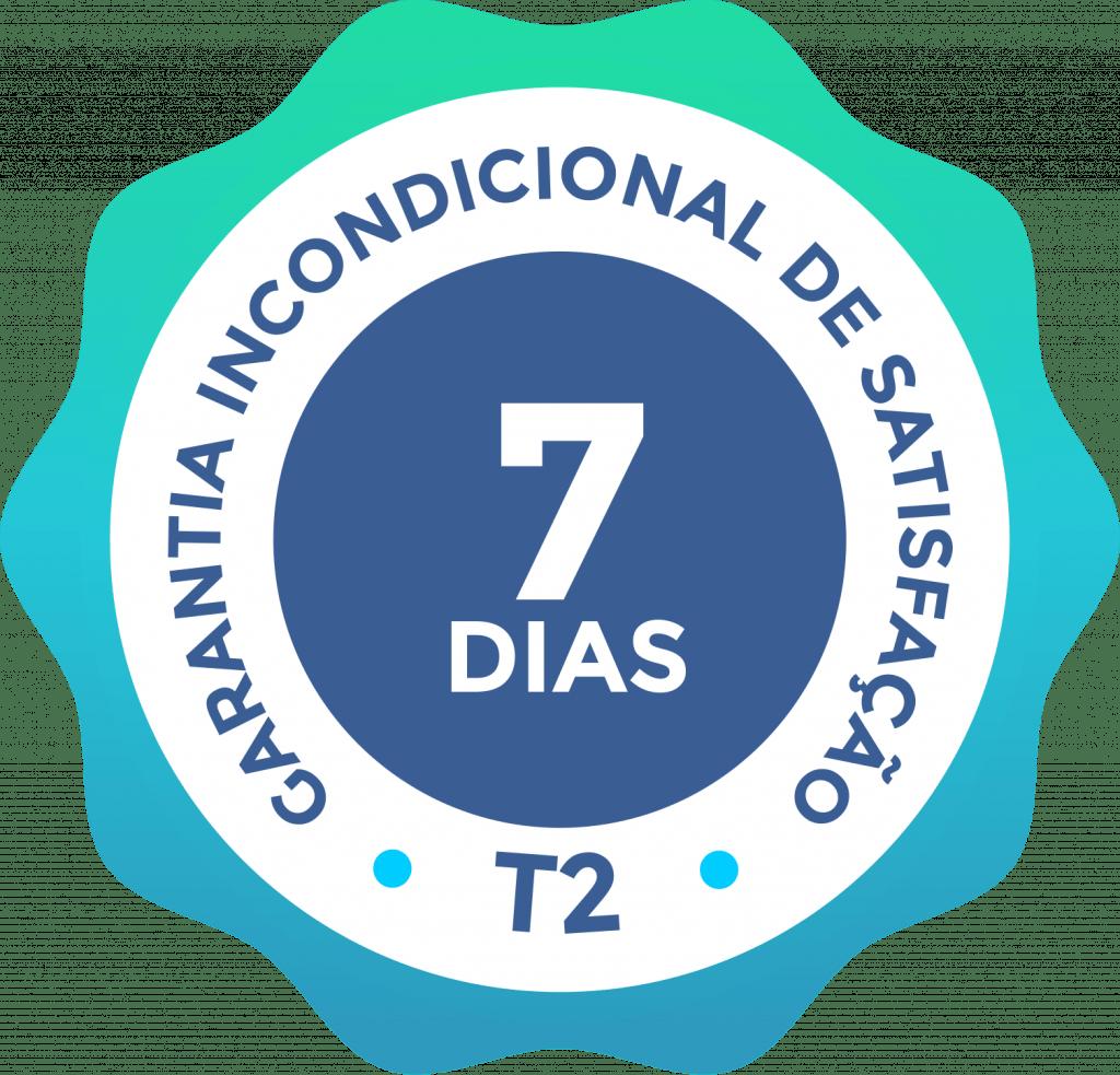 Garantia de 7 dias cursos da T2 Educação CPA provas