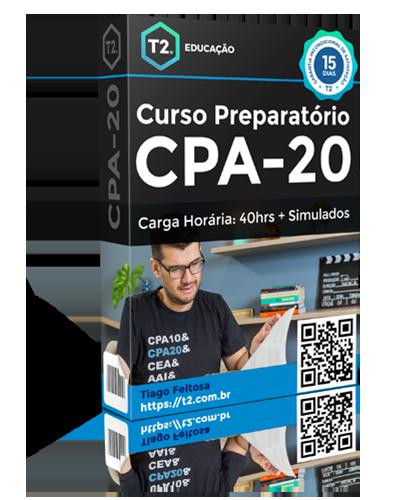 CPA20 Curso preparatório T2 Educação